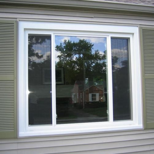 Traditional 3 Lite Single Slider Window