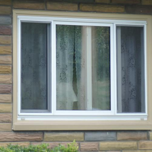 Traditional 3-Lite Single Slider Window