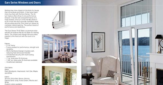 minnkota windows product brochures